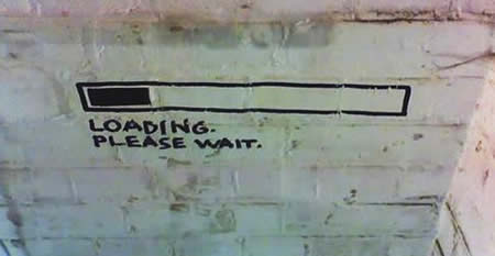 Wall Loading. Please Wait.