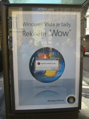 Windows Vista Error Sticker