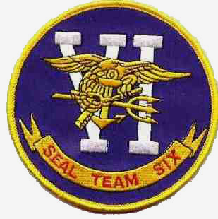 Real Emblem of the US Navy SEAL Team Six