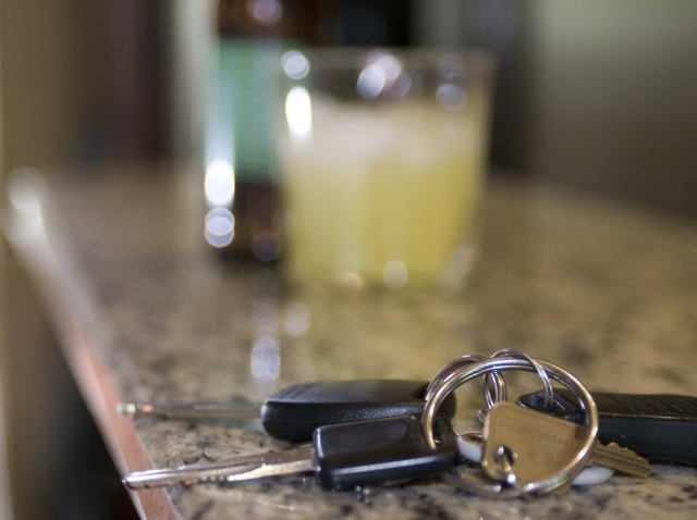 Car Keys Alcohol