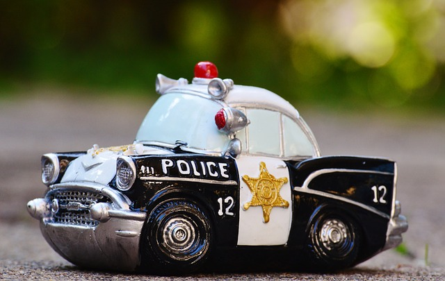 Police Toy Car