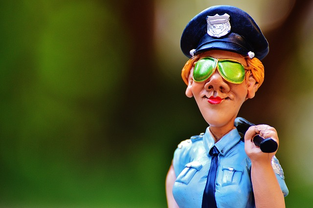 Policewoman Toy